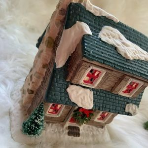 None Holiday - Combo Christmas house ornaments